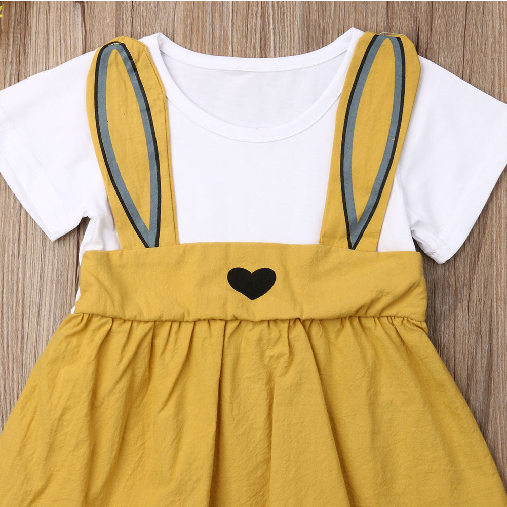 Ruby Bunny Ear Summer Dress - Dresses - baby-petite