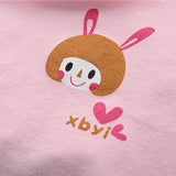 Cartoon Animal Sleeveless Cotton Tank Top