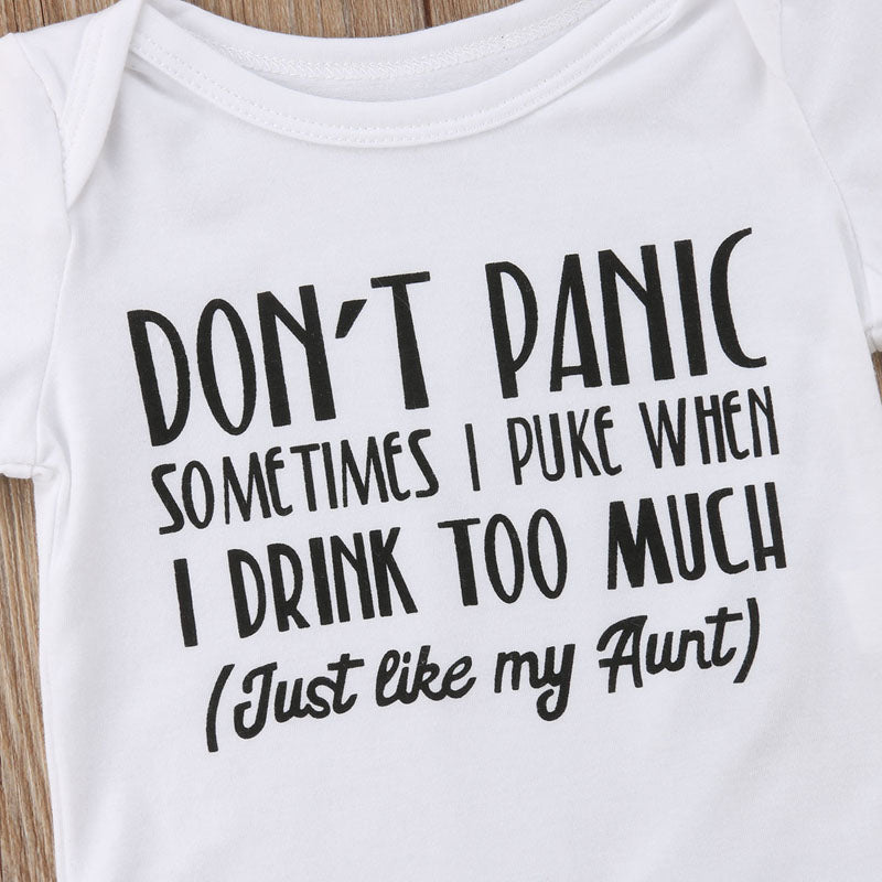 Don't Panic! Basic Cotton Romper - Kids Petite - Baby & Kids Clothing