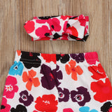 Ultimate Flower Power Leggings With Matching Headband