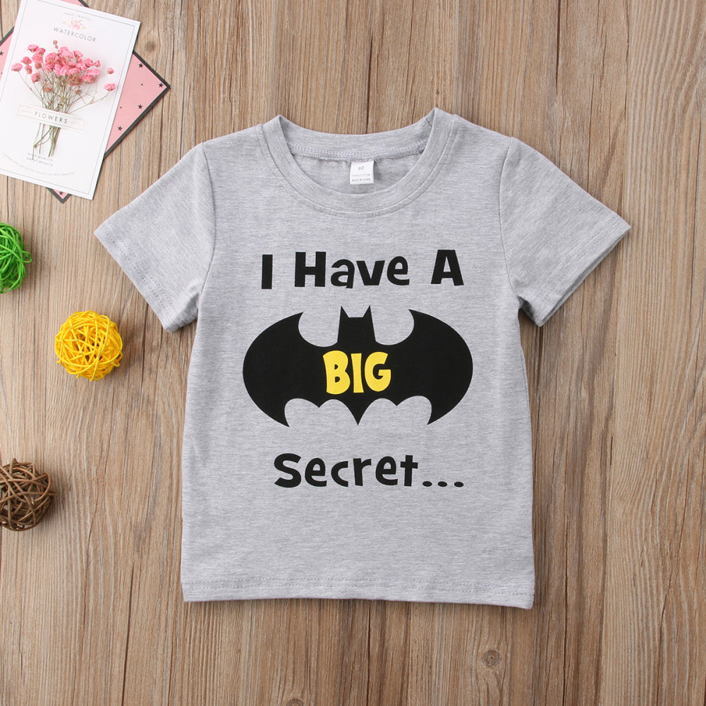 I Have A Big Secret Casual Cotton T-Shirt