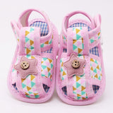 Soft Rainbow Triangle Strap On Shoes