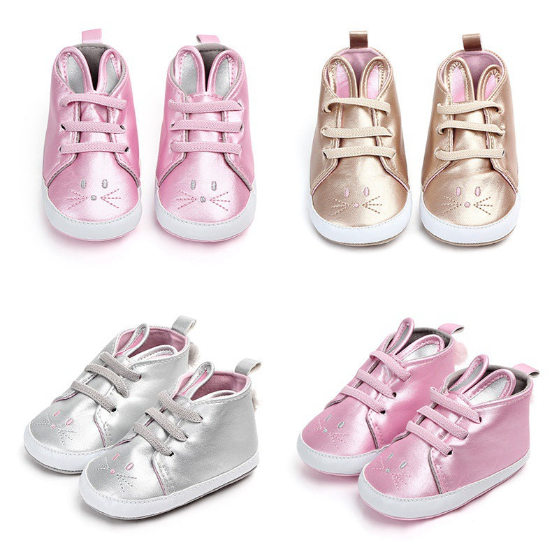 Shiny Super Bunny High Ankle Shoes