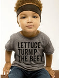 Lettuce Turnip The Beet Cotton T-Shirt - Tops - baby-petite