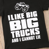 I Like Big Trucks And I Cannot Lie Cotton T-Shirt