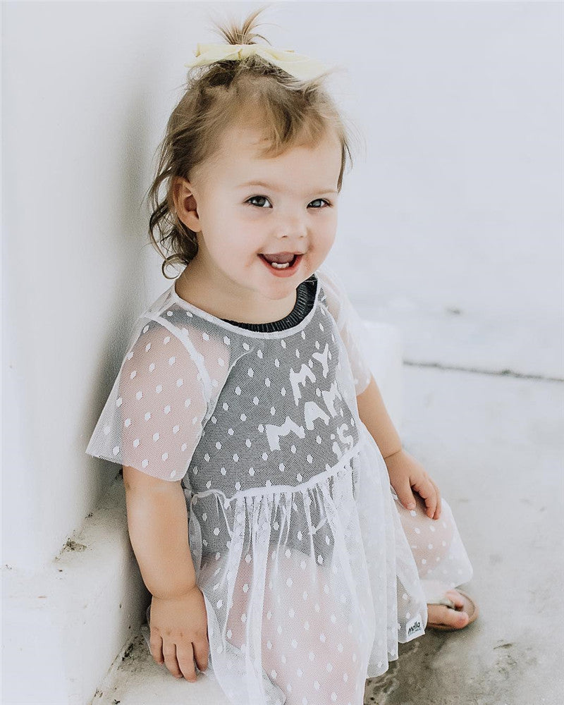 Holly Elegant Tulle Dress - Dresses - baby-petite