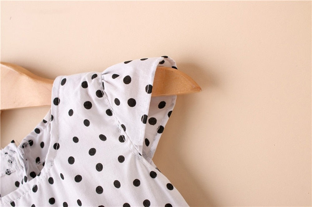 Senorita Polka Dot Floral Dress - Dresses - baby-petite