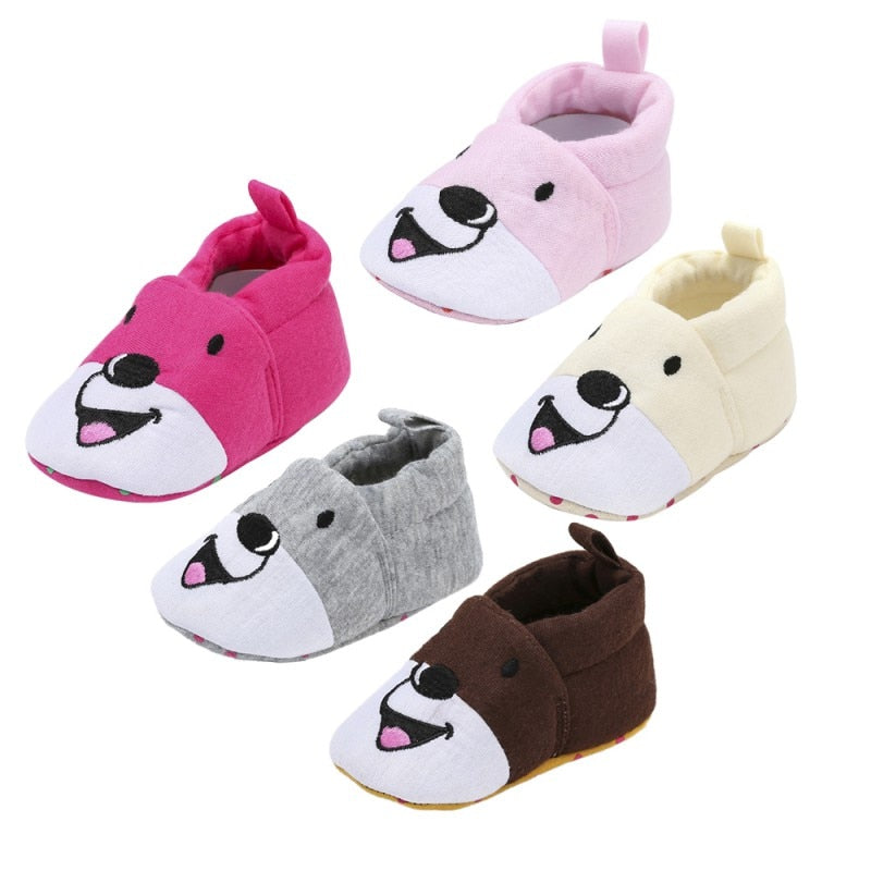 Barry Bear Soft Cotton Slip On Shoes