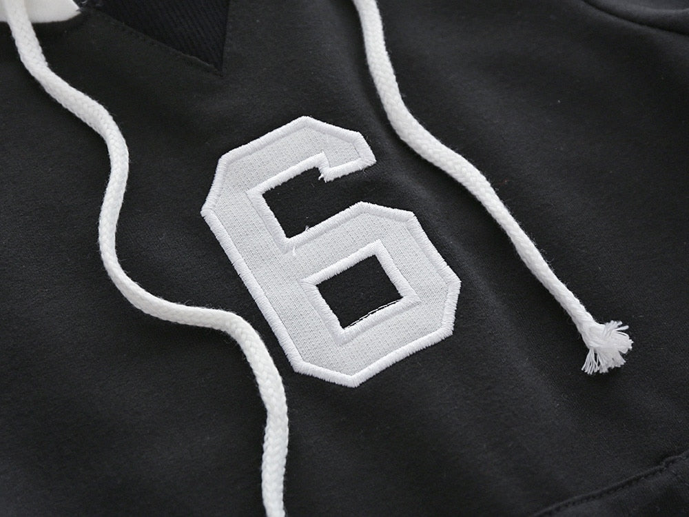 Lucky Number 6 Hooded Sweater