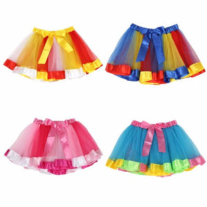 Magical Princess Ombre Bow Tulle Skirt