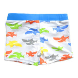 Colorful Cute Shark Swimming Trunks