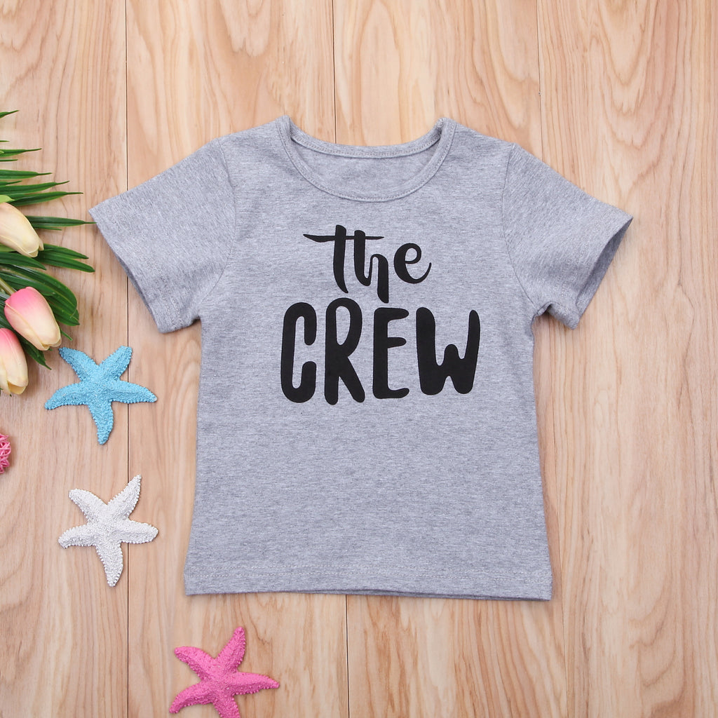 The Crew Casual Cotton T-Shirt