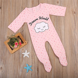 Pink Dream World Long Sleeve Pajamas