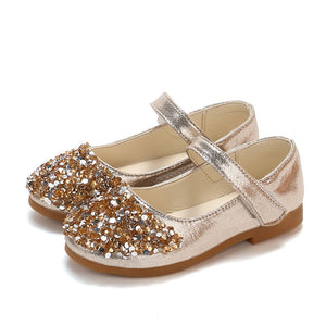 Crystal Bling Bling Strap On Shoes