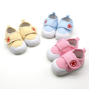 Star Child Strap On Soft Cotton Shoes