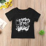 Mommy Is My Boo Casual Cotton T-Shirt