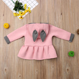 Briana Bunny Ear Hooded Sweater - Sweaters & Hoodies - baby-petite