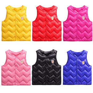 Zig Zag Bear Warm Winter Vest