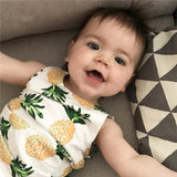 Summer Pineapple Fever Tank Top - Tops - baby-petite