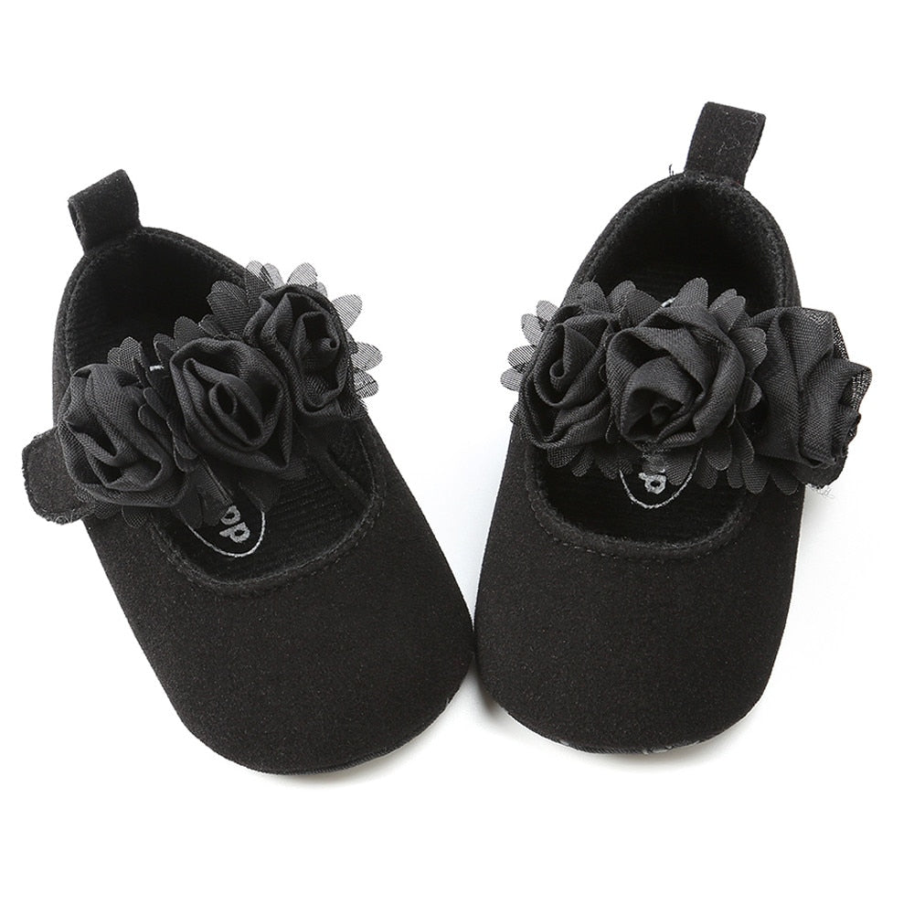 Fluff Rosie Suede Strap On Shoes