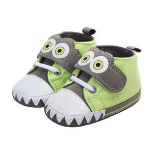 The Googly Monster Strap On Sneakers