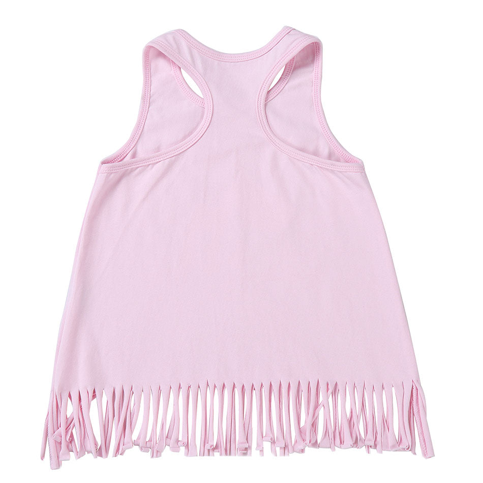 Team Magic Unicorn Tassel Tank Top