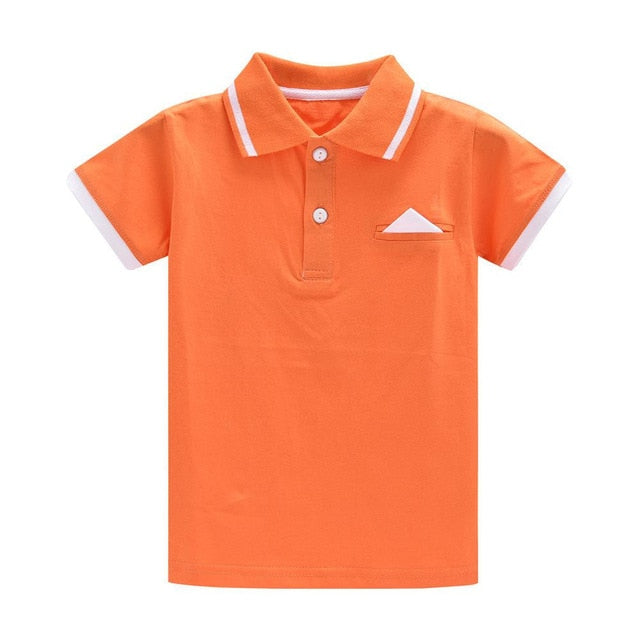 Basic Essential Short Sleeved Polo Tee