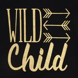 Wild Child Black Romper - Rompers - baby-petite