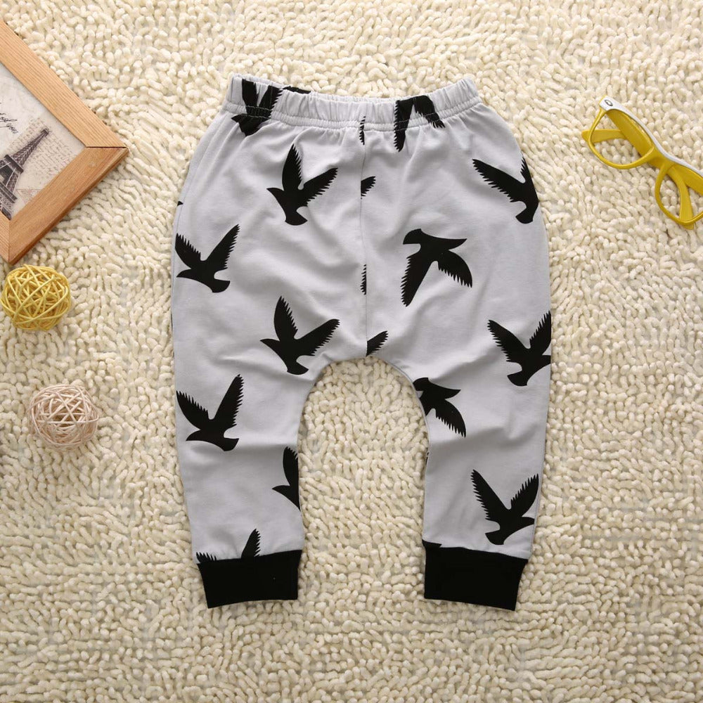 Wild Boy Dove T-Shirt and Long Pants Set - Clothing Sets - baby-petite