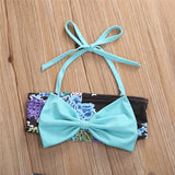 Baby Bow Bikini Swimsuit Beachwear Set - Clothing Sets - baby-petite