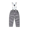 Grey Gentleman Suit, Pants and Suspenders Set