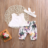 Wild Fauna Floral Clothing Set (3 Piece Set) - Clothing Sets - baby-petite