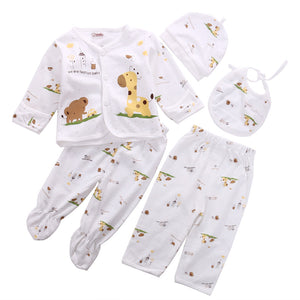 Twinkle Giraffe Clothing Set (5 Piece Set) - Baby Petite - Clothing Sets