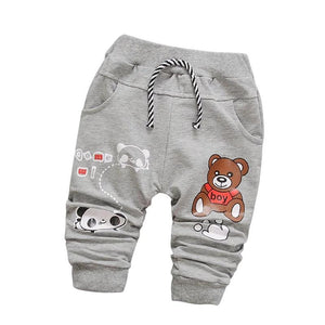 Mr Panda Bear Cotton Pants