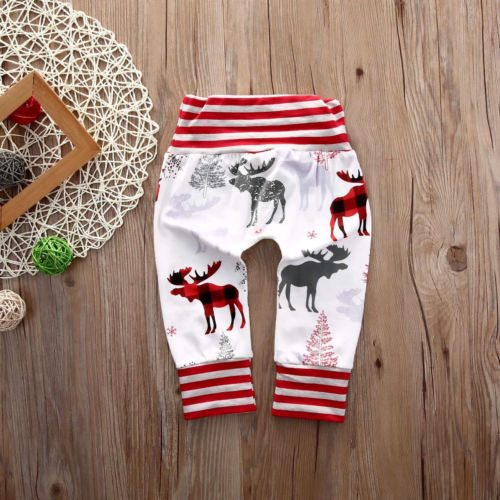 Red Striped Christmas Harem Pants