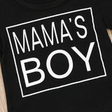 Mama's Boy Camouflage T-Shirt and Long Pants Set - Clothing Sets - baby-petite