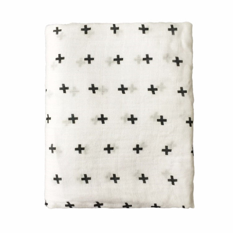 Baby Crosses Swaddle Blanket - Swaddle Blankets - baby-petite