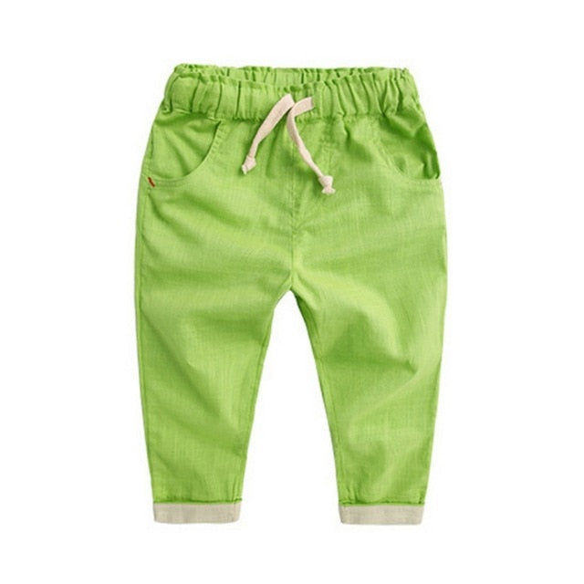 Casual Draw String Loose Harem Pants - Pants - baby-petite