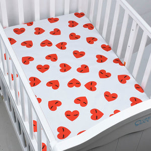 Hearty Heart Baby Bed Sheet - Kids Petite - Baby & Kids Clothing
