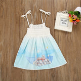 Blue Sky Moonlight Kitty Dress