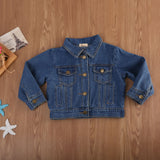 Denise Collar Denim Jacket