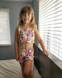 Daisy Alto Floral Tank Top and Shorts Set - Clothing Sets - baby-petite