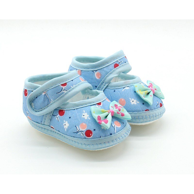 Floral Paradise Bow Strap On Shoes