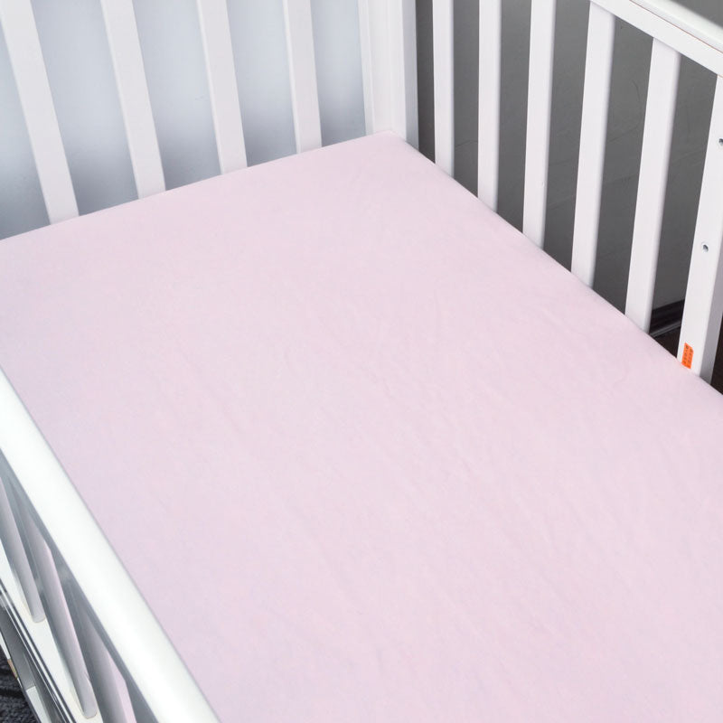 Basic Plain Pink Baby Bed Sheet - Bed Sheets - baby-petite