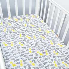 Shining Safari Baby Bed Sheet