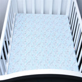 Summer Leaves Baby Bed Sheet