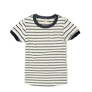 Classic Striped Casual Cotton T-Shirt