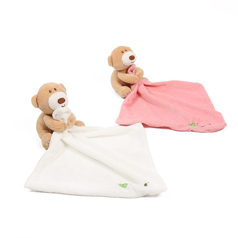 Caring Bear Blankie Security Blanket
