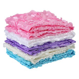 Ruffle Petals Floral Swaddle Blanket - Swaddle Blankets - baby-petite