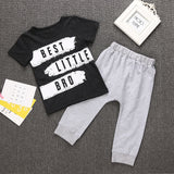 Best Little Bro T-Shirt and Long Pants Set - Clothing Sets - baby-petite